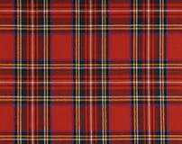 Красные площади ткани Стоковое Фото