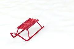 красные розвальни Стоковые Фотографии RF