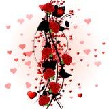 красные розы бесплатная иллюстрация