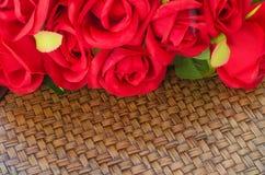 красные розы Стоковая Фотография RF