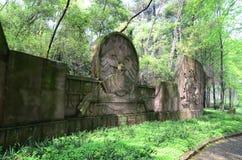 Красные руины скалы Стоковые Фотографии RF