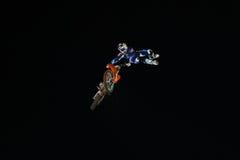 Красные X-Самолет-истребители Bull Стоковое Изображение RF
