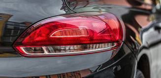 Красные света автомобиля Стоковое Фото