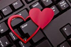 Красные сердца стоковая фотография rf