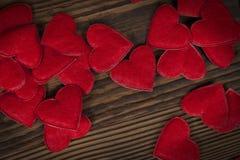 Красные сердца стоковая фотография