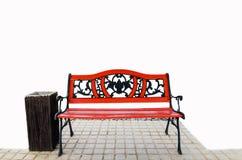 Красные стенды Стоковые Изображения