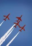 Красные стрелки выполняя в Британии Стоковая Фотография RF