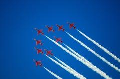 Красные стрелки Стоковое Изображение