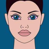 Красные, сухие глаза бесплатная иллюстрация