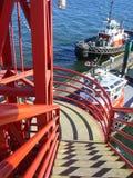 красные тени Стоковые Фотографии RF