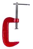 красные тиски Стоковое фото RF