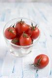 Красные томаты вишни Стоковое Фото