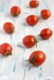Красные томаты вишни Стоковые Фото