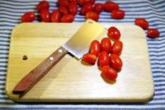 Красные томаты вишни Стоковое фото RF