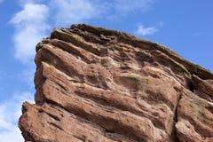 Красные утесы в Колорадо стоковые изображения