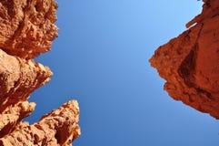 Утесы в каньоне США Bryce Стоковые Изображения
