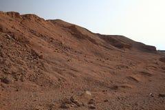 Красные утесы гор в Египте Стоковые Изображения
