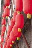 Красный фонарик Стоковое Фото