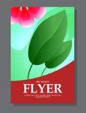 Красные цветки на рогульке Смогите быть использовано как поздравительные открытки или приглашение свадьбы вектор Стоковые Фото