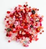 Красные шарики ремесла Стоковая Фотография RF