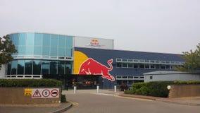 Красные штабы гонок быка Стоковая Фотография