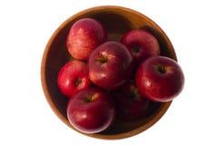 Красные яблоки Стоковое фото RF