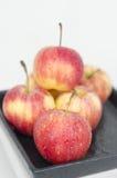 Красные яблоки Стоковые Фотографии RF