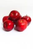 Красные яблоки. Стоковое Фото