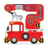 Красный автомобиль 3 спасения Стоковое Изображение RF