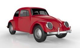 Красный автомобиль Стоковое Изображение RF