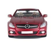 Красный автомобиль стоковые изображения rf