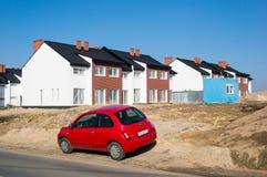 Красный автомобиль Стоковая Фотография
