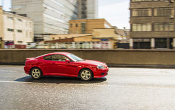 Красный автомобиль Стоковая Фотография RF
