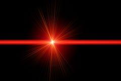 Красный лазерный луч иллюстрация вектора