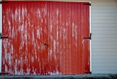Красный амбар Стоковое Фото