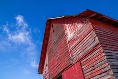Красный амбар Стоковые Фотографии RF