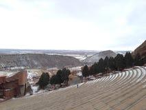 красный амфитеатр Колорадо утеса Стоковое Изображение