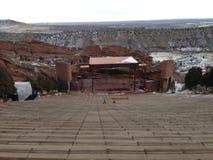 красный амфитеатр Колорадо утеса Стоковая Фотография RF