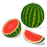 Красный арбуз плодоовощ Стоковая Фотография