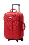 красный багаж Стоковые Фото
