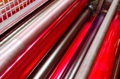 Красный барабанчик цвета magenda Стоковое Фото