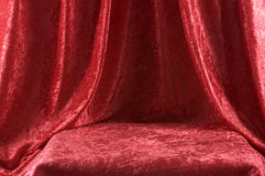 красный бархат этапа стоковые изображения