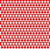 Красный белый дизайн точки Стоковые Изображения RF