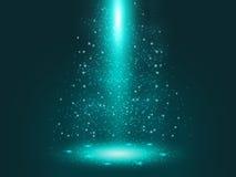 Красный брызг света Стоковая Фотография RF