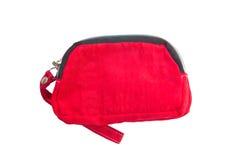 Красный бумажник. Стоковая Фотография RF
