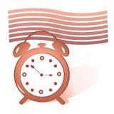 Красный будильник Стоковые Фотографии RF