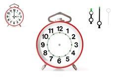 Красный будильник Стоковое Изображение