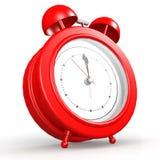 Красный будильник Стоковые Изображения RF