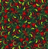 красный вектор тюльпанов Стоковые Фото