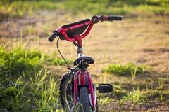 Красный велосипед Стоковое Изображение RF